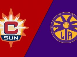 Коннектикут Сан vs Лос-Анджелес Спаркс