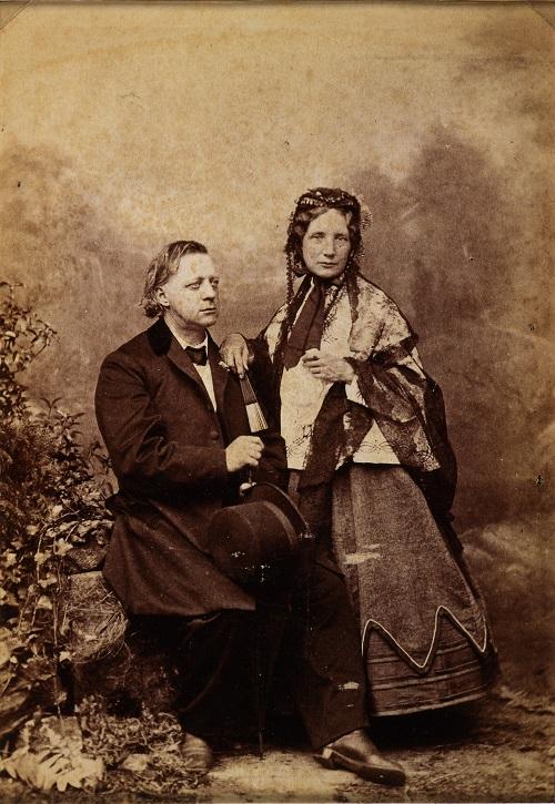 Генри Уорд Бичер с женой - Каменный лес Stone Forest